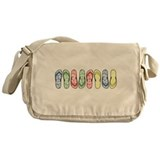 Rainbow Flops Messenger Bag