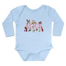 Alice & Friends in Wonderland Long Sleeve Infant B