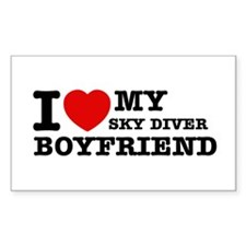 I love My Sky Diver Boyfriend Decal