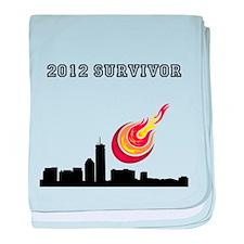 2012 SURVIVOR. baby blanket