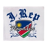 I Rep Namibia Throw Blanket