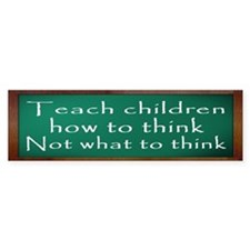 Teach Children How Bumper Sticker