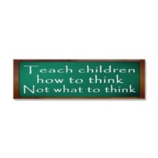 Teach Children How Car Magnet 10 x 3