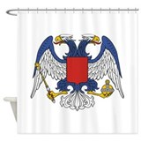 Eagle Byzantine Inverted Shower Curtain