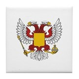 Eagle Byzantine Tile Coaster