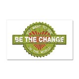 Be the Change Car Magnet 20 x 12