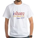 Fire Island Summer Share White T-Shirt
