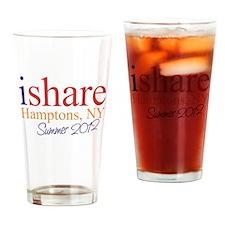 Hamptons Summer Share Drinking Glass