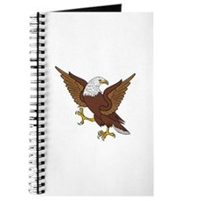 Eagle Rampant Reg Wings Expanded Journal