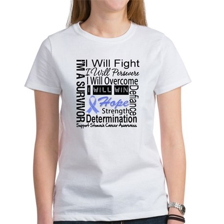Stomach Cancer Persevere Women's T-Shirt