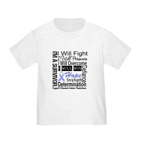Stomach Cancer Persevere Toddler T-Shirt