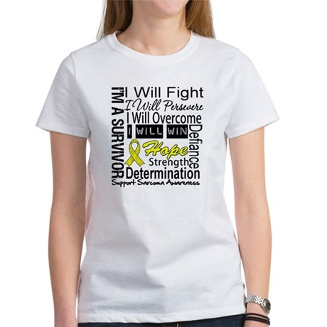 Sarcoma Fight Persevere Women's T-Shirt