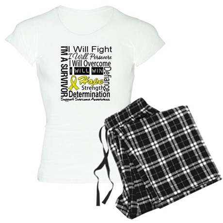 Sarcoma Fight Persevere Women's Light Pajamas