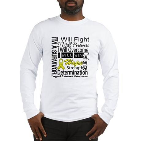 Sarcoma Fight Persevere Long Sleeve T-Shirt