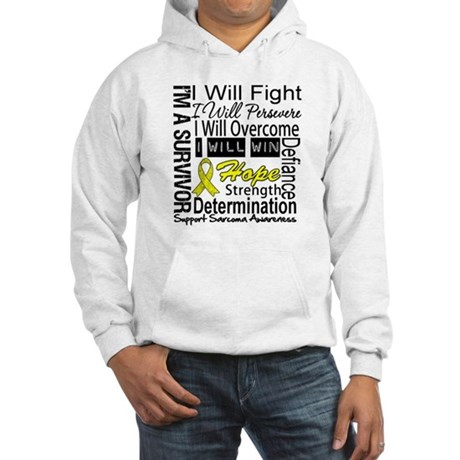 Sarcoma Fight Persevere Hooded Sweatshirt