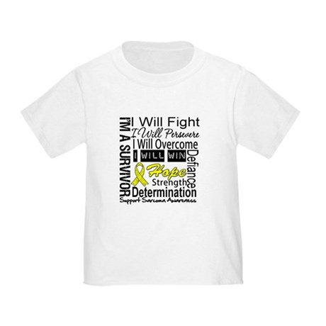 Sarcoma Fight Persevere Toddler T-Shirt