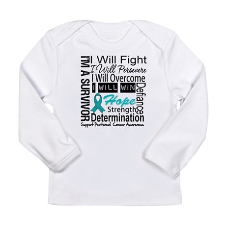 Peritoneal Cancer Persevere Long Sleeve Infant T-S