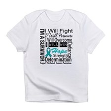 Peritoneal Cancer Persevere Infant T-Shirt