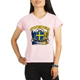 Sweden European fotboll 2012 Performance Dry T-Shi