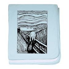 Edvard Munch The Scream baby blanket