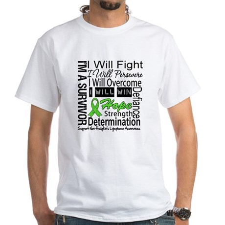 NonHodgkins Lymphoma White T-Shirt