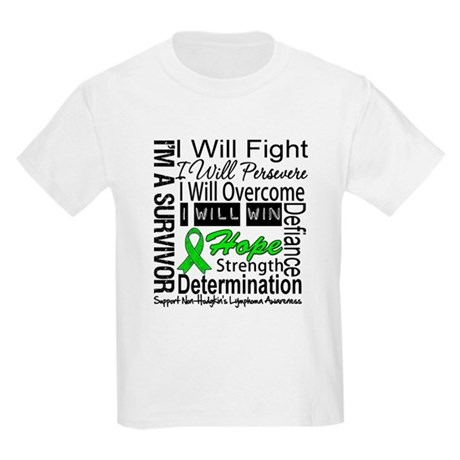 NonHodgkins Lymphoma Kids Light T-Shirt