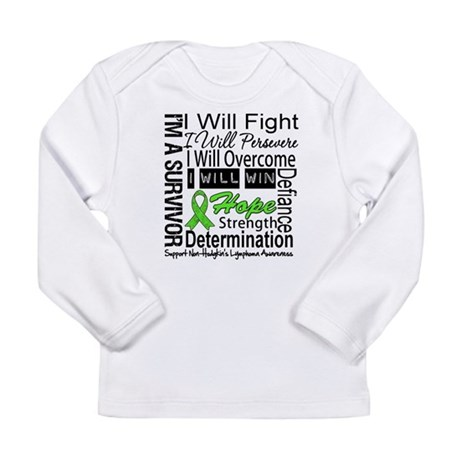 NonHodgkins Lymphoma Long Sleeve Infant T-Shirt