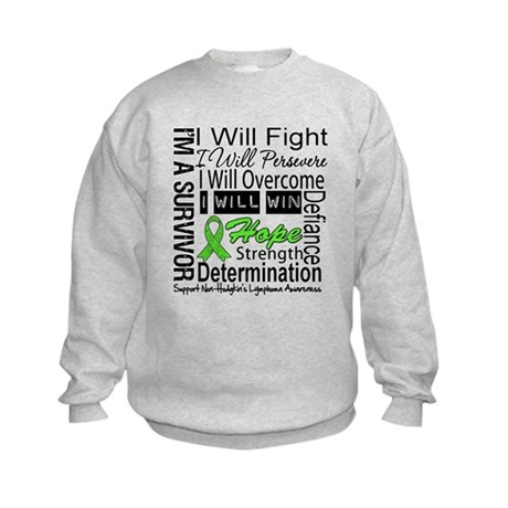 NonHodgkins Lymphoma Kids Sweatshirt