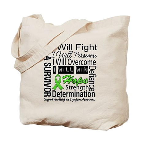 NonHodgkins Lymphoma Tote Bag