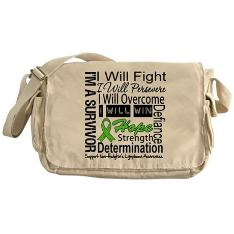 NonHodgkins Lymphoma Messenger Bag