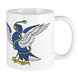 Eagle Serpent Entwined Mug
