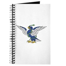 Eagle Serpent Entwined Journal