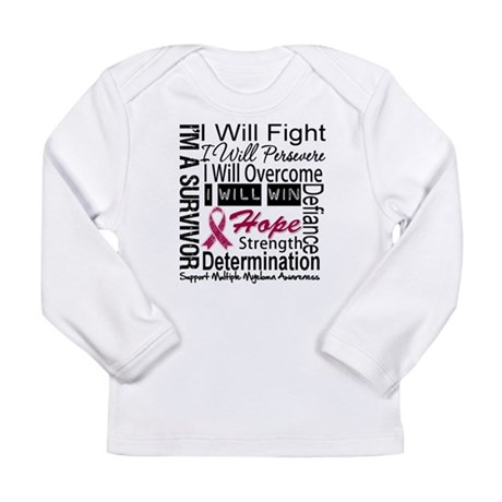 Multiple Myeloma Persevere Long Sleeve Infant T-Sh