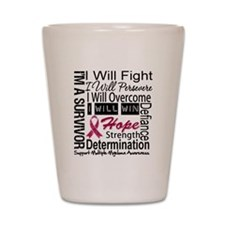 Multiple Myeloma Persevere Shot Glass