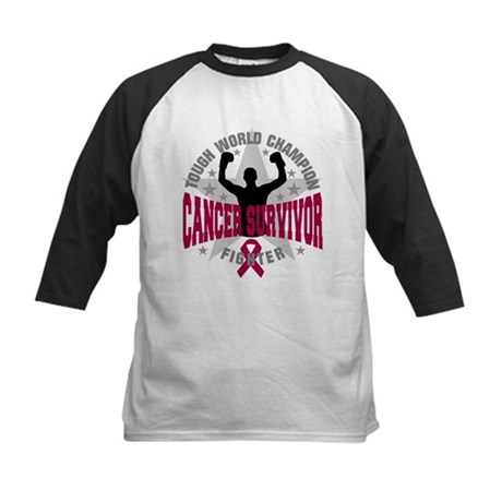 Multiple Myeloma Tough Survivor Kids Baseball Jers
