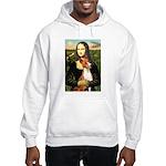 Mona Lisa - Basenji #1 Hooded Sweatshirt