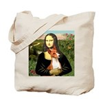 Mona Lisa - Basenji #1 Tote Bag