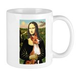 Mona Lisa - Basenji #1 Mug