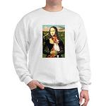 Mona Lisa - Basenji #1 Sweatshirt