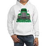 Trucker Sebastian Hooded Sweatshirt