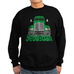 Trucker Sebastian Sweatshirt (dark)