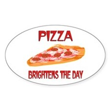 Pizza Brightens Decal