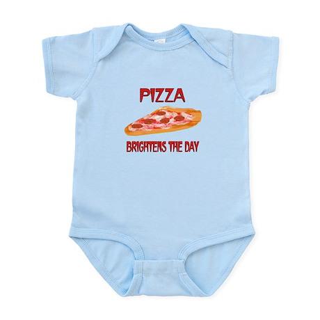 Pizza Brightens Infant Bodysuit
