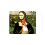 Mona Lisa - Basenji #1 38.5 x 24.5 Wall Peel