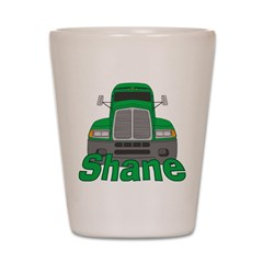 Trucker Shane Shot Glass