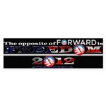 The Opposite of Forward Sticker (Bumper 10 pk)