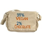 98% Vegan Messenger Bag