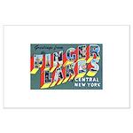 Finger Lakes New York Large Poster