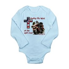 sharing His Word - Long Sleeve Infant Bodysuit