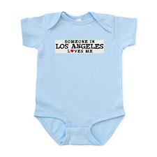 Los Angeles: Loves Me Infant Creeper